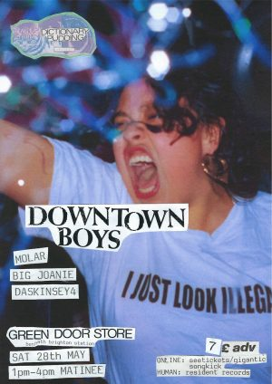 downtown boys poster
