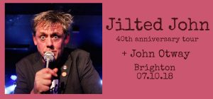 Jilted John FB